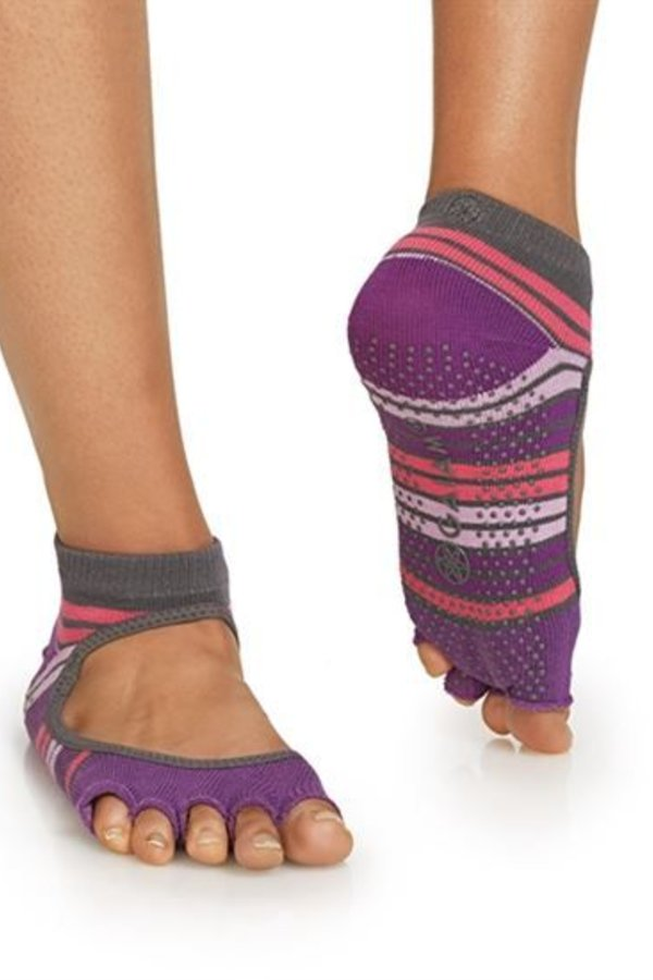 GAIAM Chaussettes de yoga Mary Jane