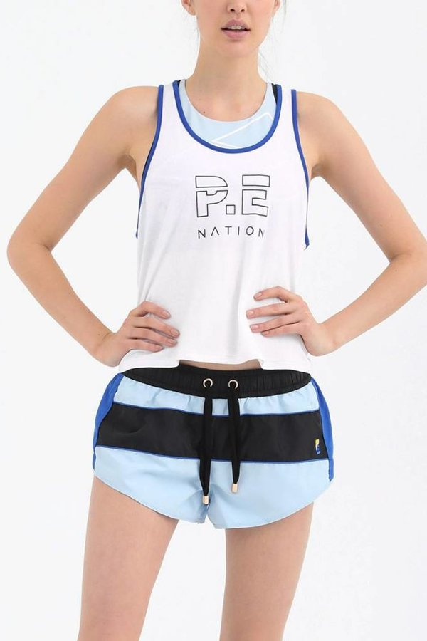 P.E Nation Camisole Iceman Cropped