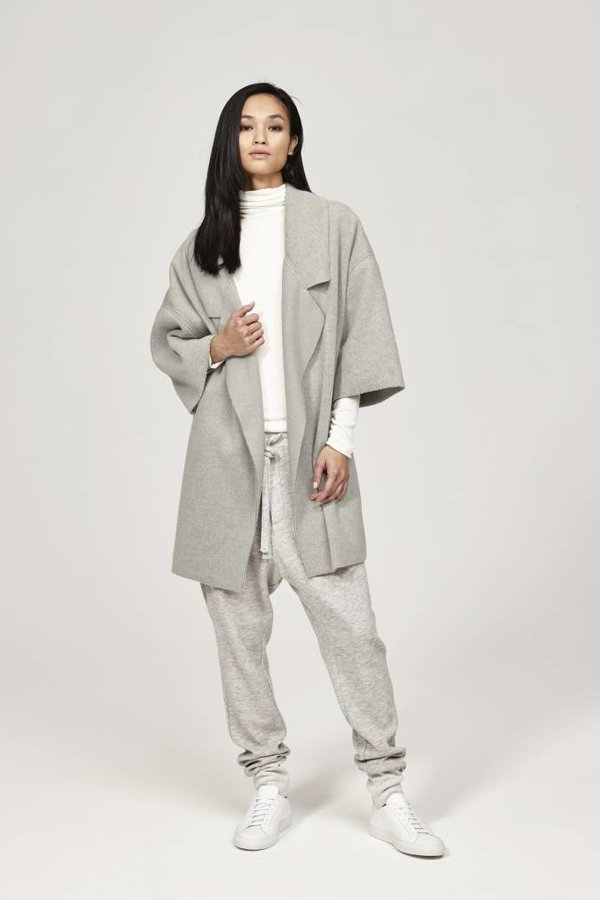 TWENTY Knit Cocoon Jacket