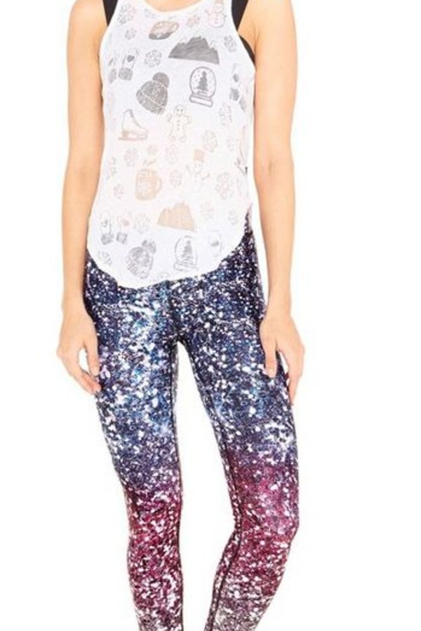 TEREZ Legging Glitterally