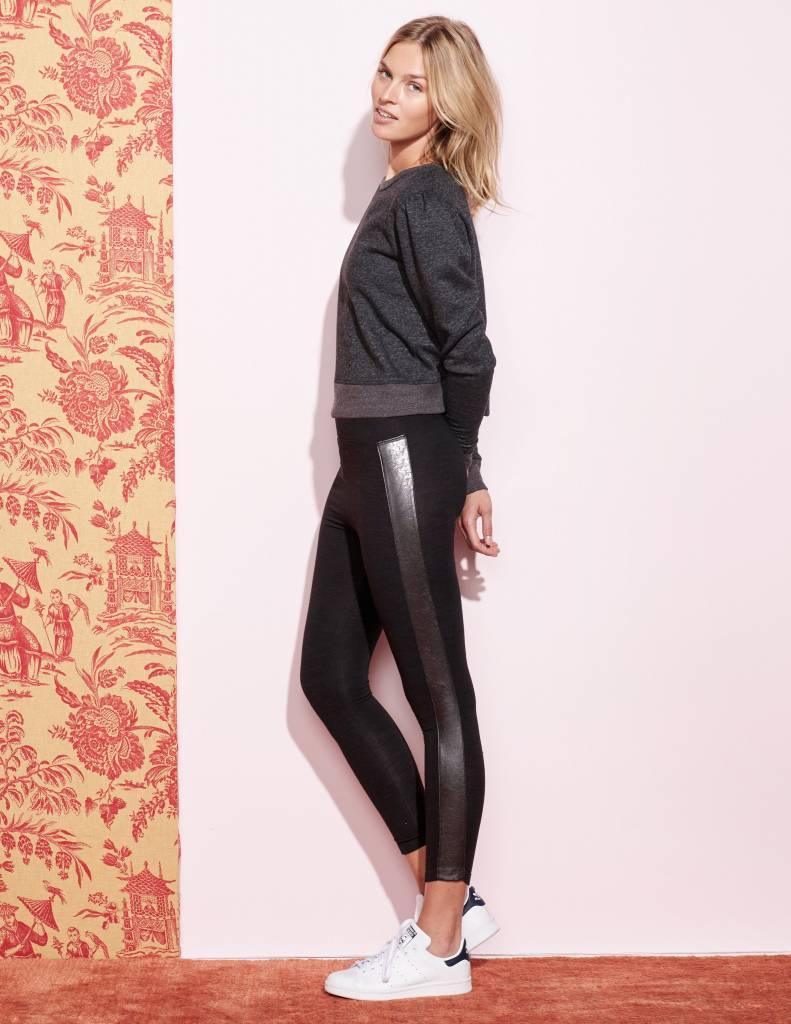 SUNDRY FxLeathrBled Yoga pant