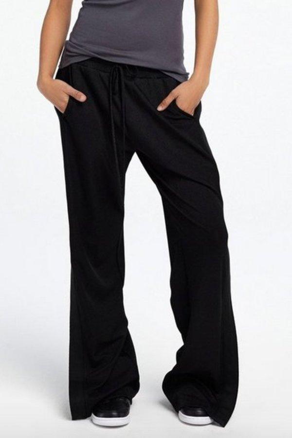 TWENTY Knit High Waisted Snap Side Pant