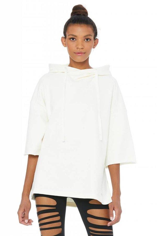 ALO YOGA Falls Short Sleeve Pullover