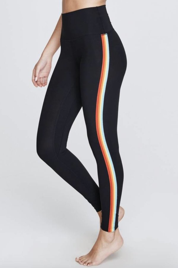SPIRITUAL GANGSTER Rainbow strip legging