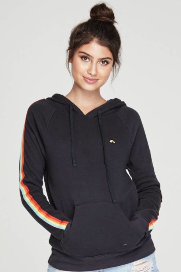 SPIRITUAL GANGSTER Rainbow Pullover Hoodie