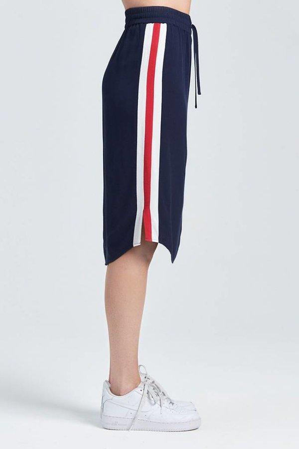 ZOE KARSSEN Tuxedo skirt