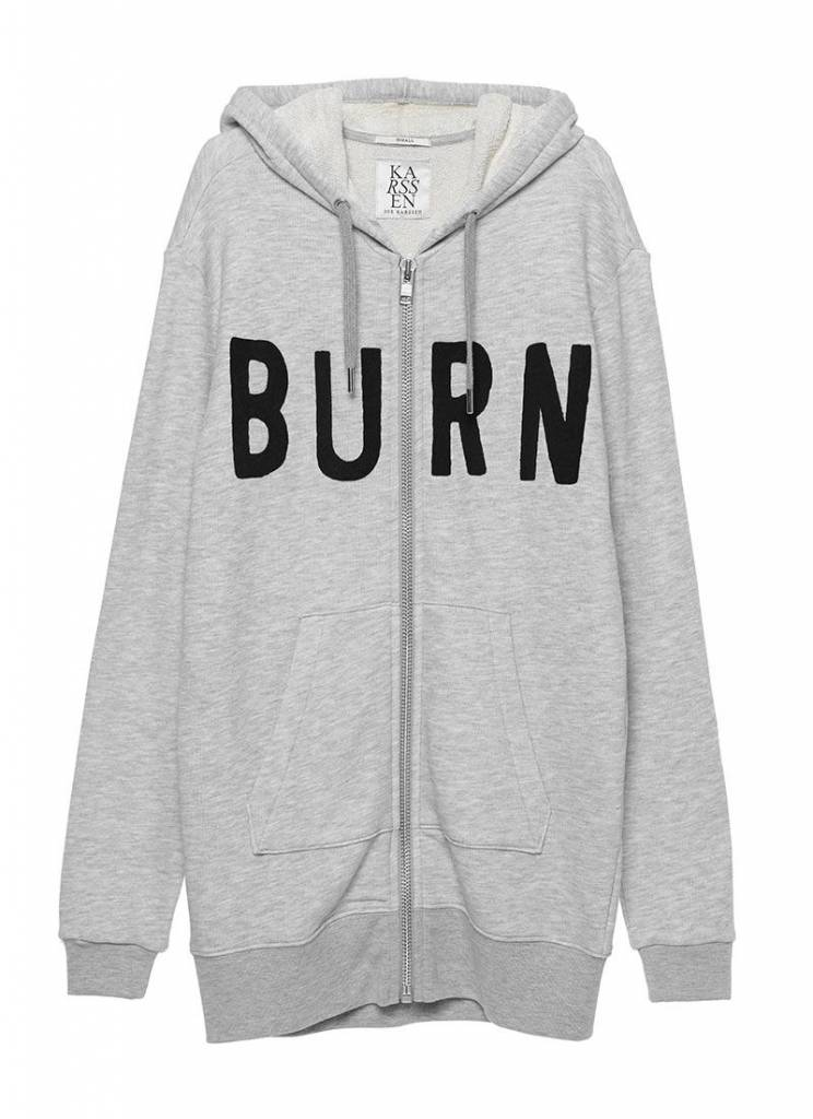 ZOE KARSSEN Burn Sweatshirt