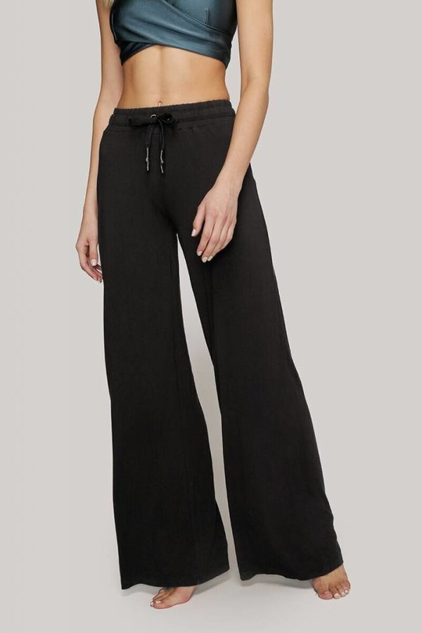 INDUSTRY Knit wide leg lounge pant