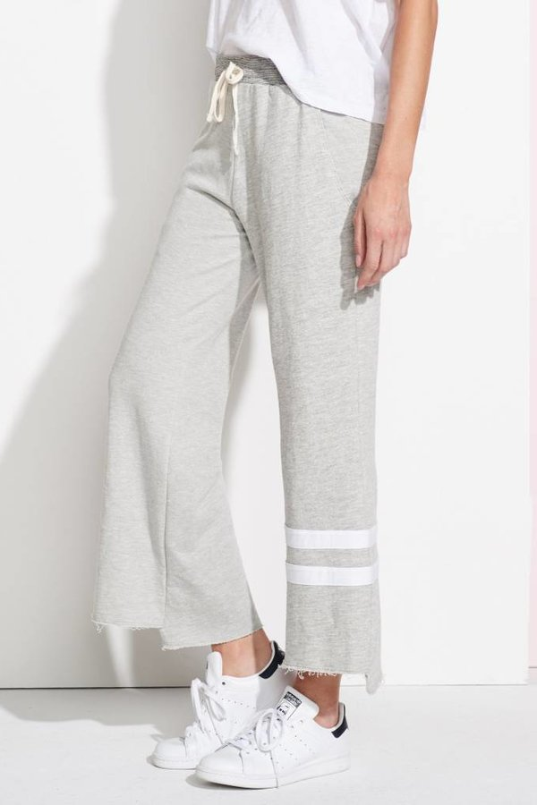 SUNDRY Stripes Flare Sweatpants
