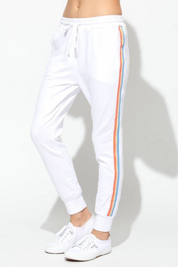 SUNDRY Tapered Sweatpants with trim