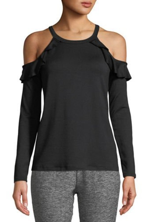 BEYOND YOGA Frill Seeker Pullover