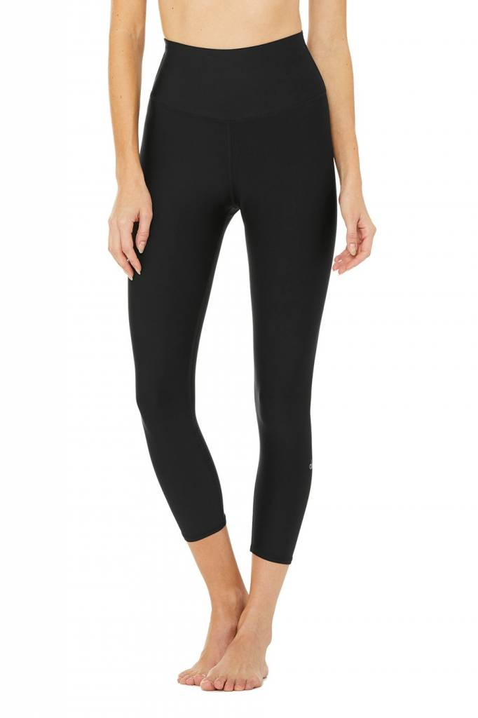 ALO YOGA Tech Lift High-Waist Airbrush Capri