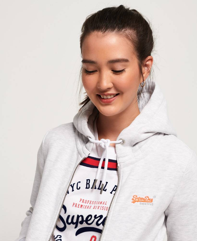 SUPERDRY Superdry orange label ziphood