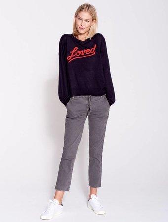 SUNDRY Love Crew Neck Sweater