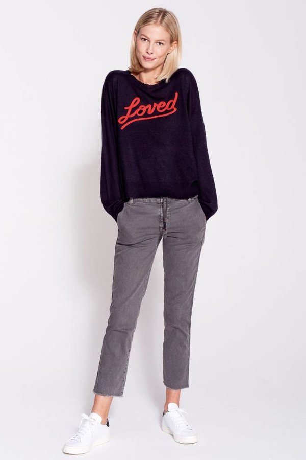 SUNDRY Love Crew Neck Sweater