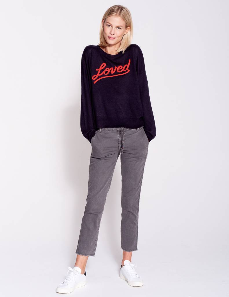 Love Crew Neck Sweater Louwana Creek