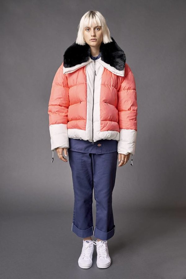 Biannual Ladies Short Puffer