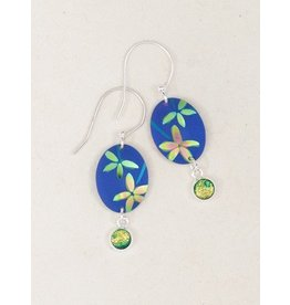 Holly Yashi HY Blue Firelight Earrings