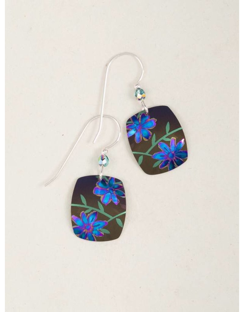 Holly Yashi Brown Meadow Earrings