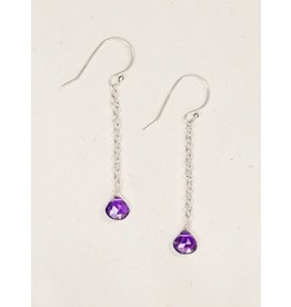 Holly Yashi Amy/Silver Ali Drop Earrings