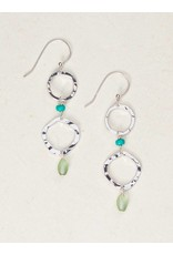 Holly Yashi Silver/Turquoise Taryn Earrings