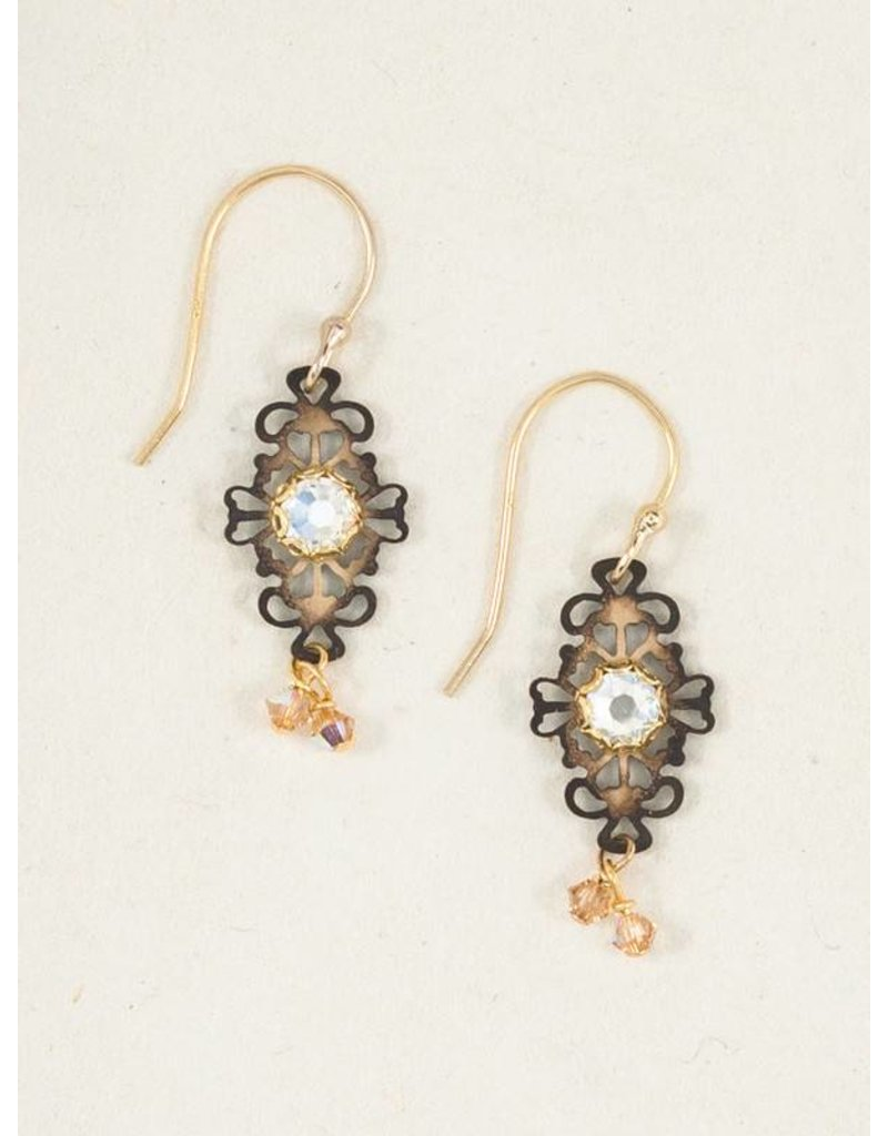 Holly Yashi Holly Yashi Sage Edith Earrings