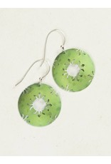 Holly Yashi Lime Petite Northern Lights Earring