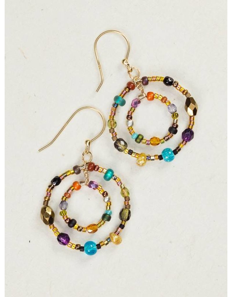 Holly Yashi HY Multi-Colored Petite Lucia Earrings