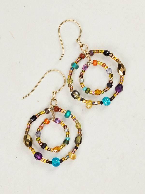 Holly Yashi HY Multi-Colored Petite Lucia Earrings