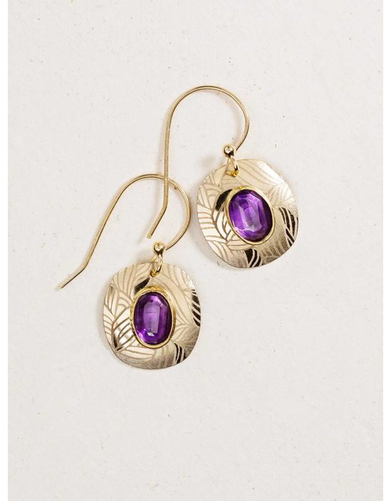 Holly Yashi Amy/Gold Synergy Earrings