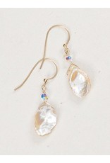 Holly Yashi Neutral/Silver Margo Earrings