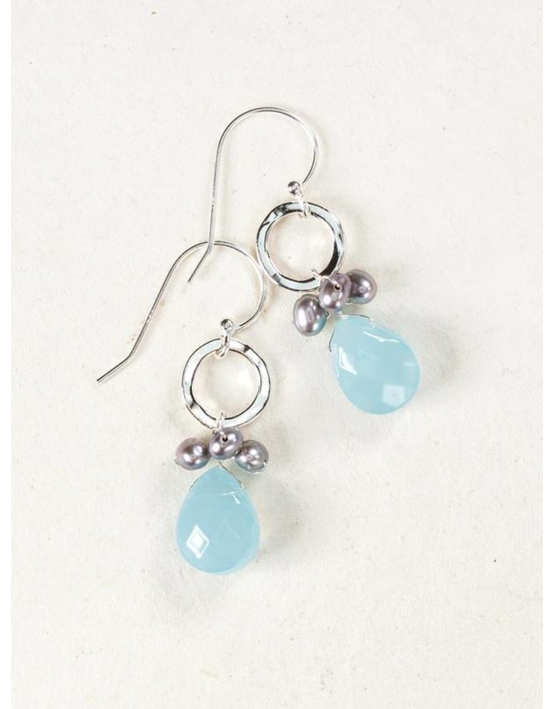 Holly Yashi Blue Pixie Earrings
