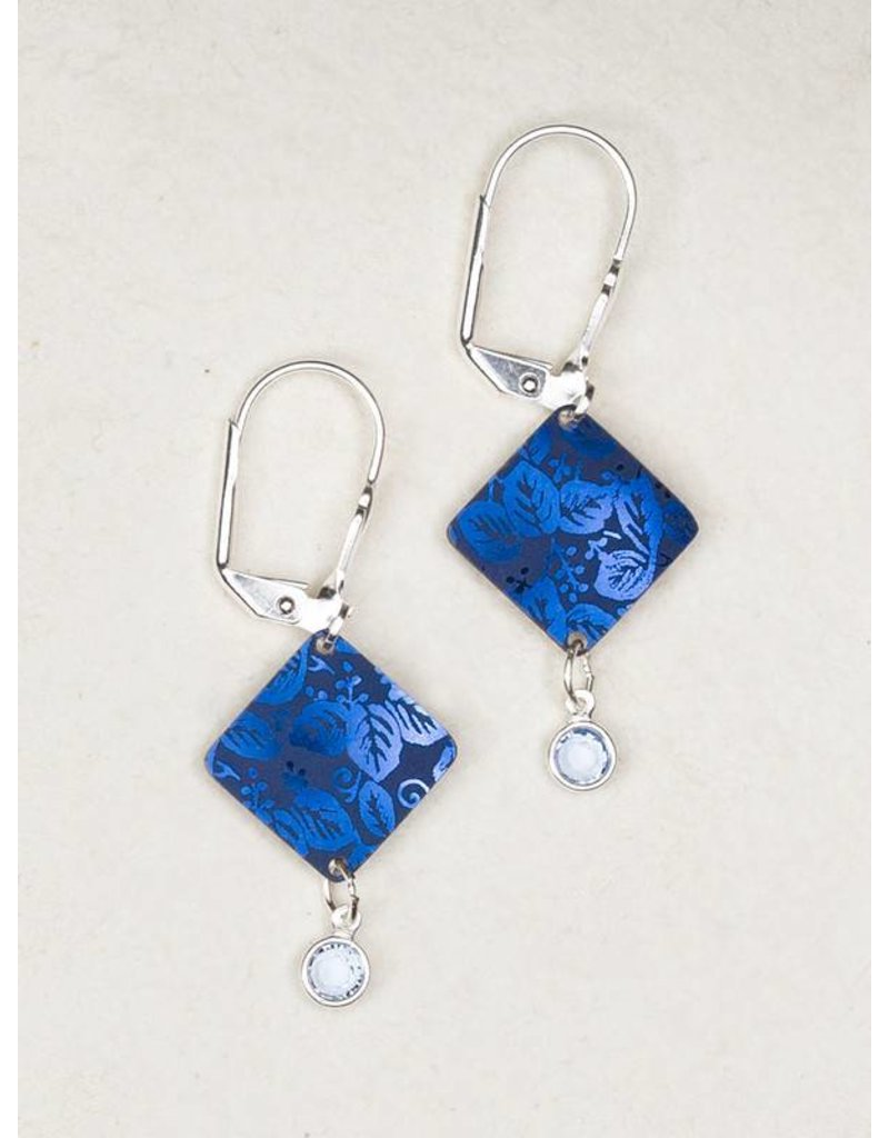 Holly Yashi Blue Diamond Dreams Earrings