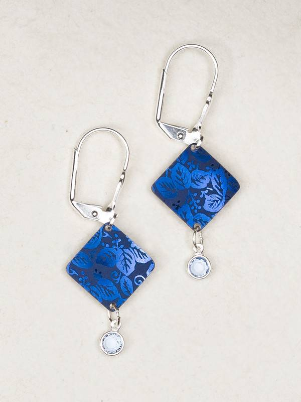 Holly Yashi Blue Diamond Dreams Earrings
