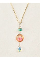 Holly Yashi Watermelon Clementine Necklace