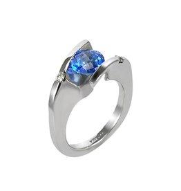 Frank Reubel Kashir Blue Topaz Ring