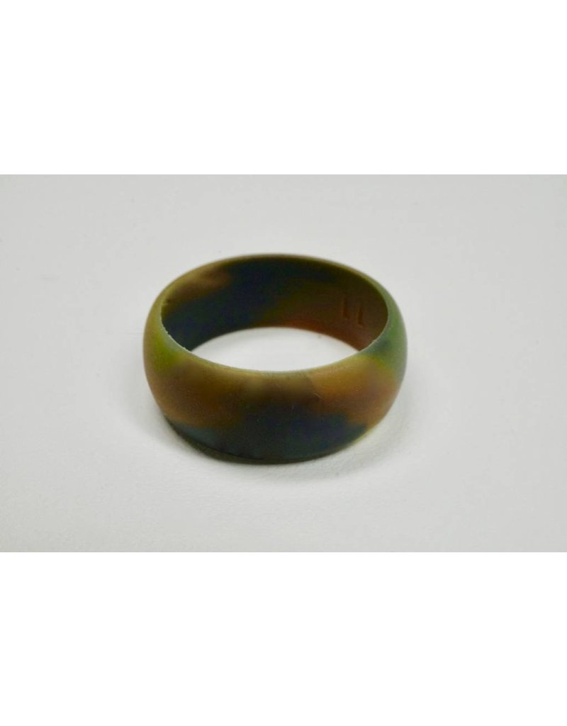Tough Love Rings Tough Love Silicone Ring-Green Camo