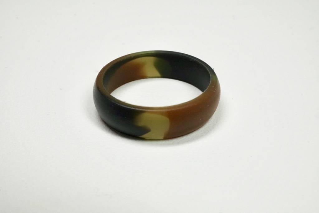 Tough Love Rings Tough Love Silicone Ring-Green Camo