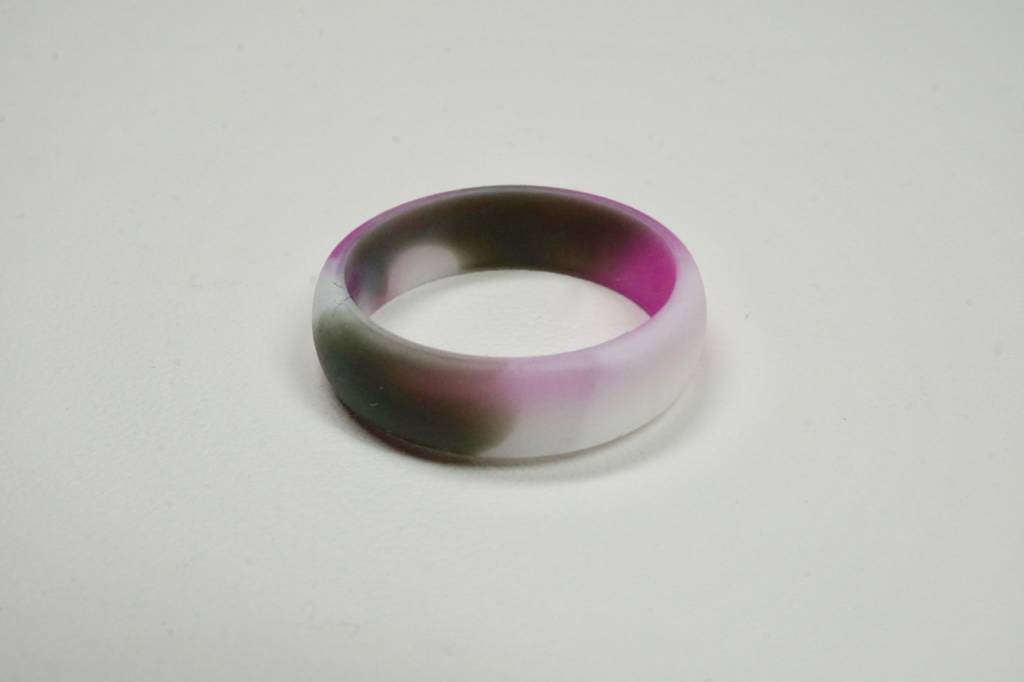 Tough Love Rings Tough Love Silicone Ring-Pink Camo