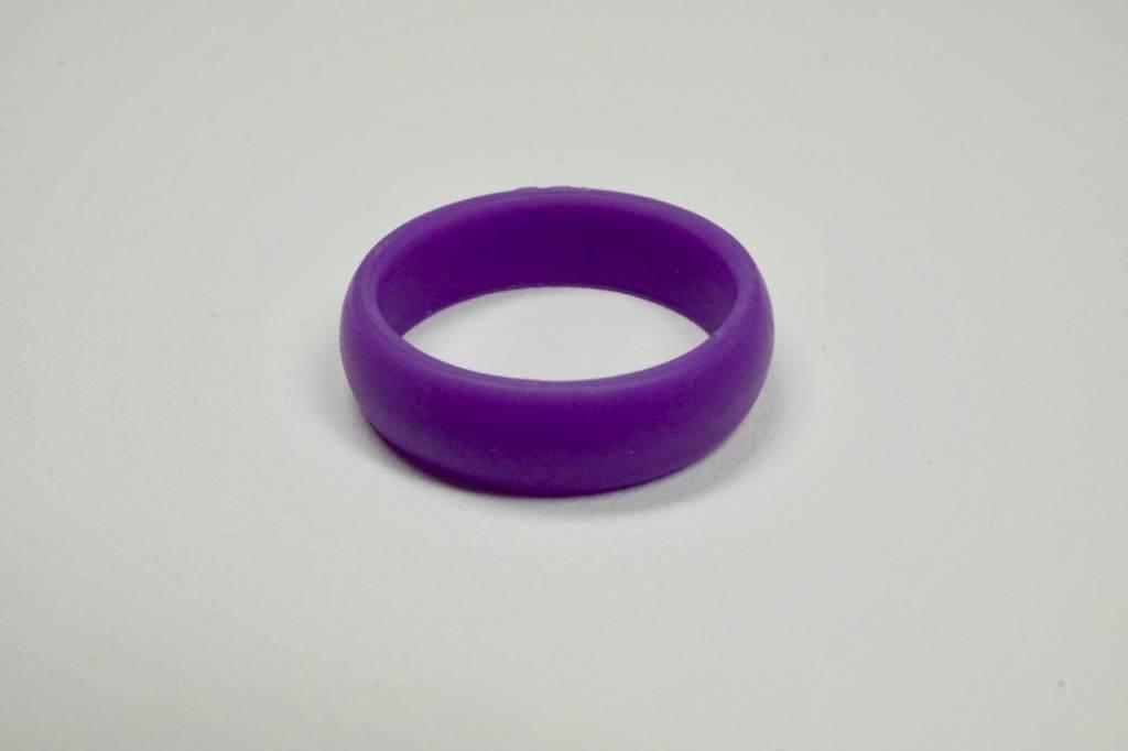 Tough Love Rings Tough Love Silicone Ring-Purple