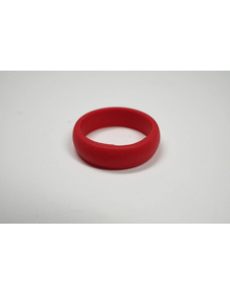 Tough Love Rings Tough Love Silicone Ring-Red