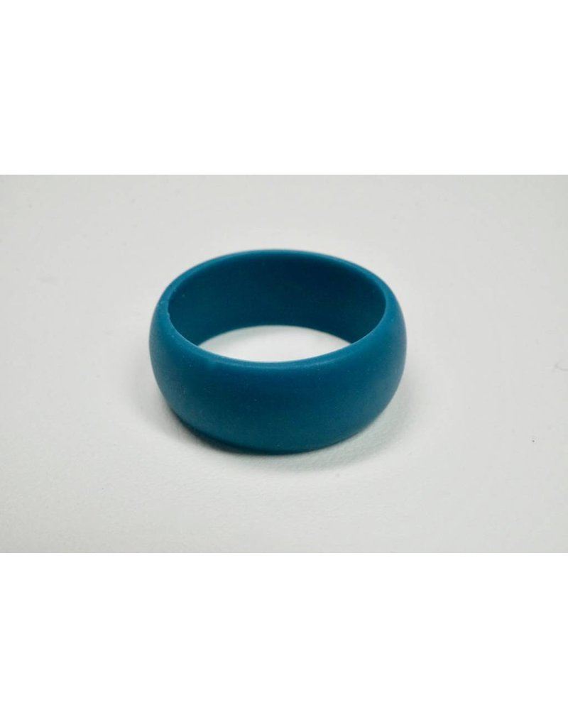 Tough Love Rings Tough Love Silicone Ring-Teal