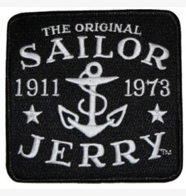 Sailor Jerry Sailor Jerry Logo Patch - Black