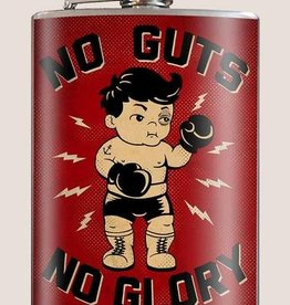 T & M Trixie & Milo No Guts No Glory Flask