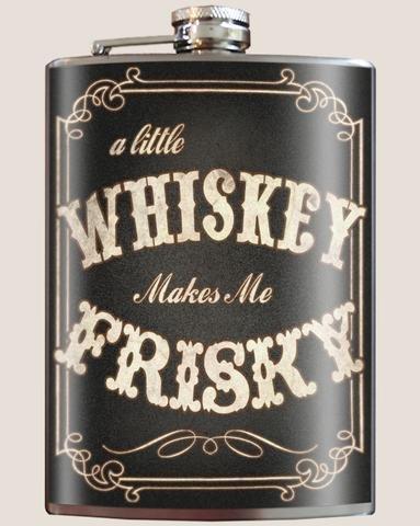 Trixie & Milo Trixie & Milo Frisky Whiskey Flask