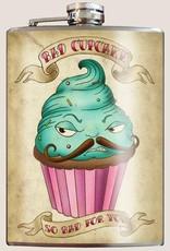 T & M Trixie & Milo Bad Cupcake Flask