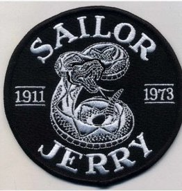 Sailor Jerry Sailor Jerry Snake Patch  Black