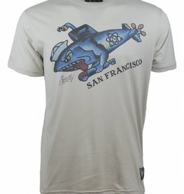Sailor Jerry Sailor Jerry Men's SF Shark Pedo Tee