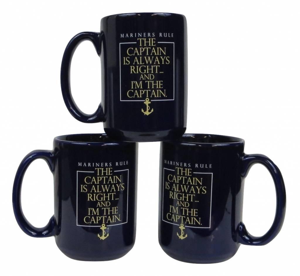 Captain's Always Right Mug