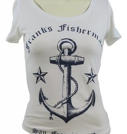 Frank's Fisherman Anchor Scoop Tee